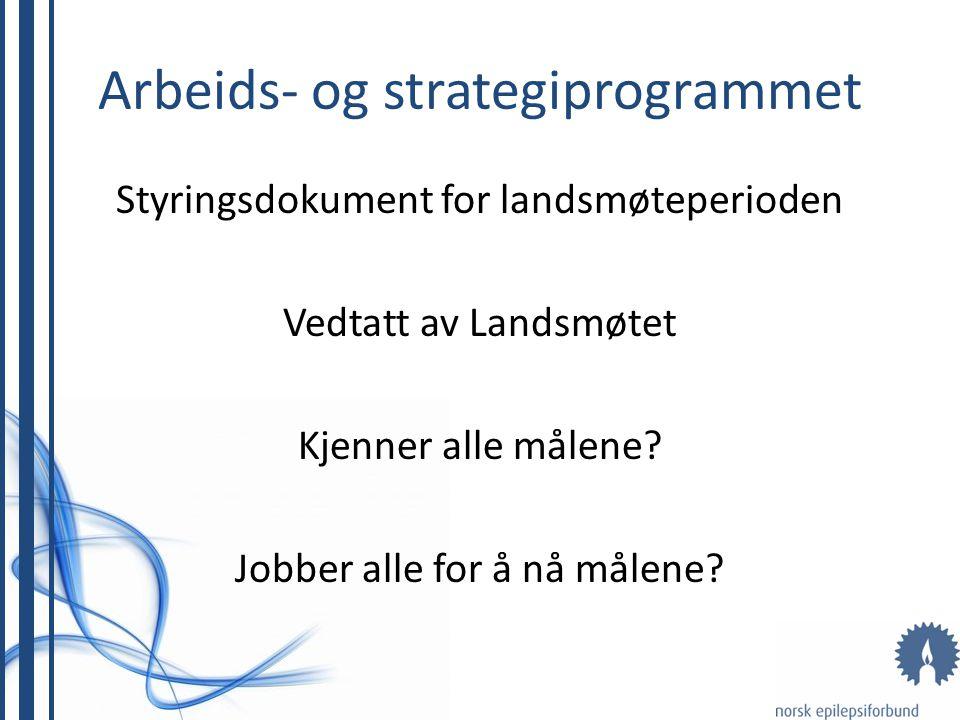 Arbeids- og strategiprogrammet