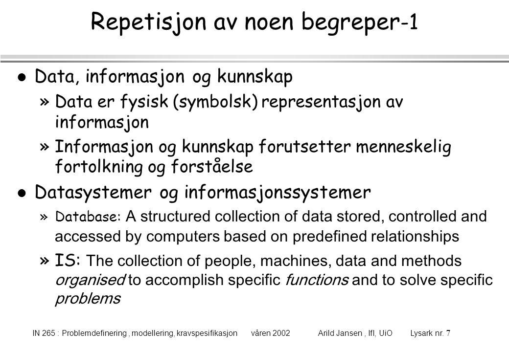 Repetisjon av noen begreper-1