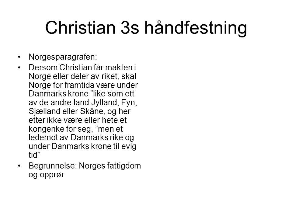 Christian 3s håndfestning