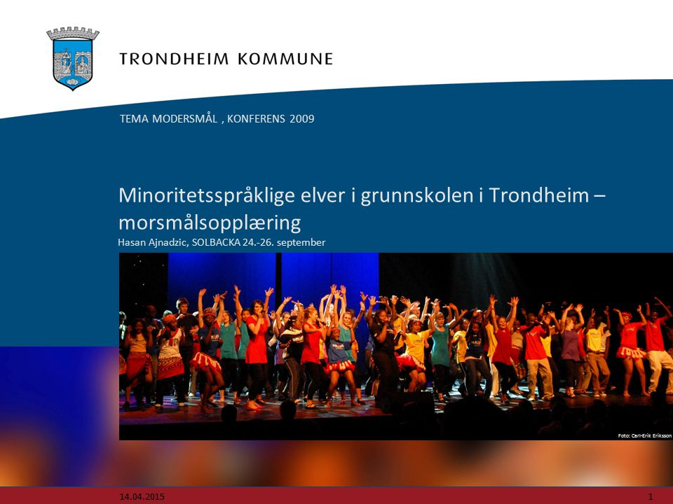 TEMA MODERSMÅL , KONFERENS 2009