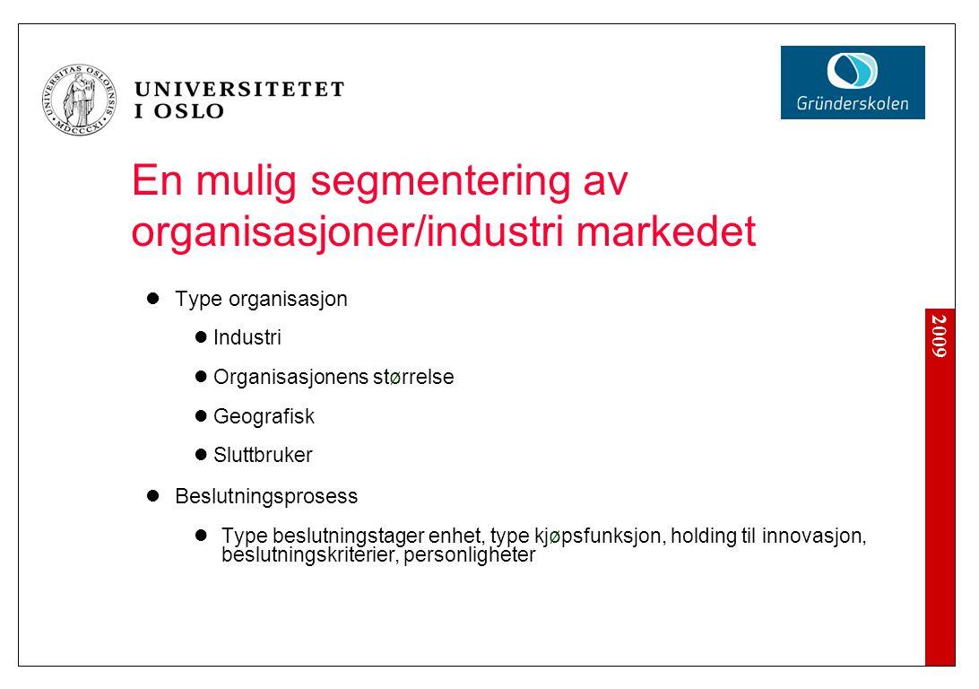 Organisasjoner/industri