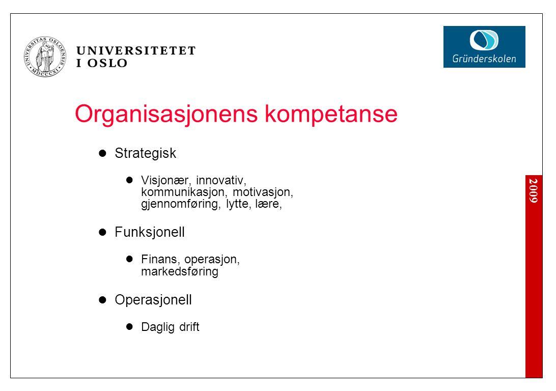 Organisasjonens ressurser (assets)