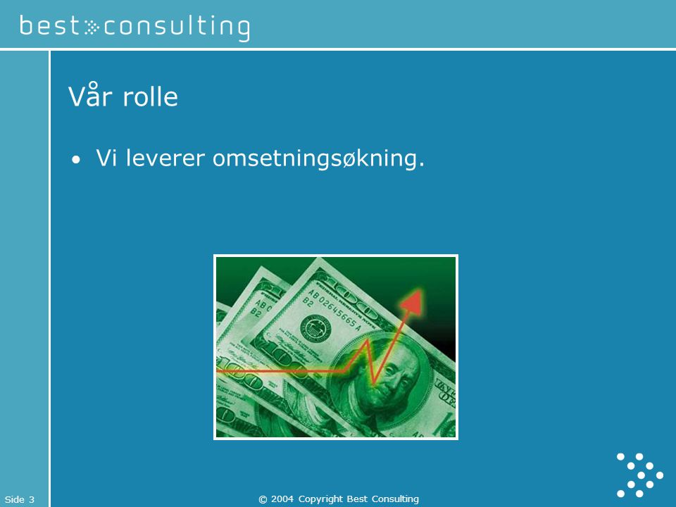 © 2004 Copyright Best Consulting