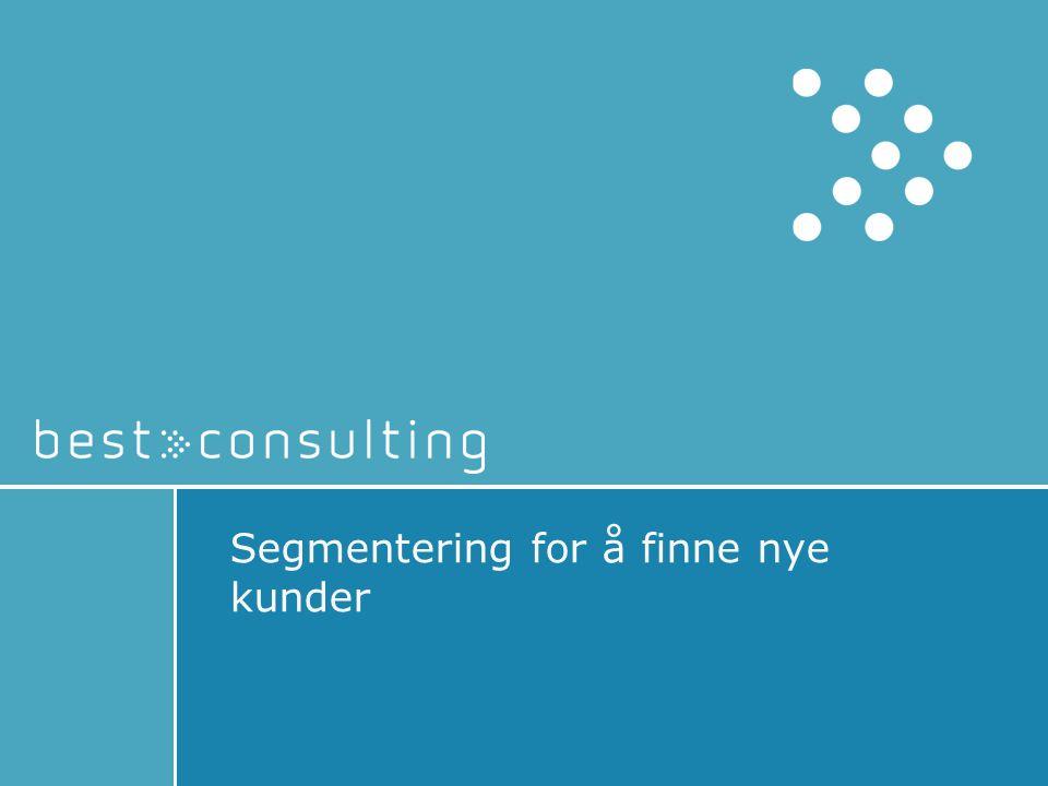 Segmentering for å finne nye kunder