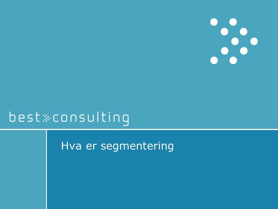 Hva er segmentering