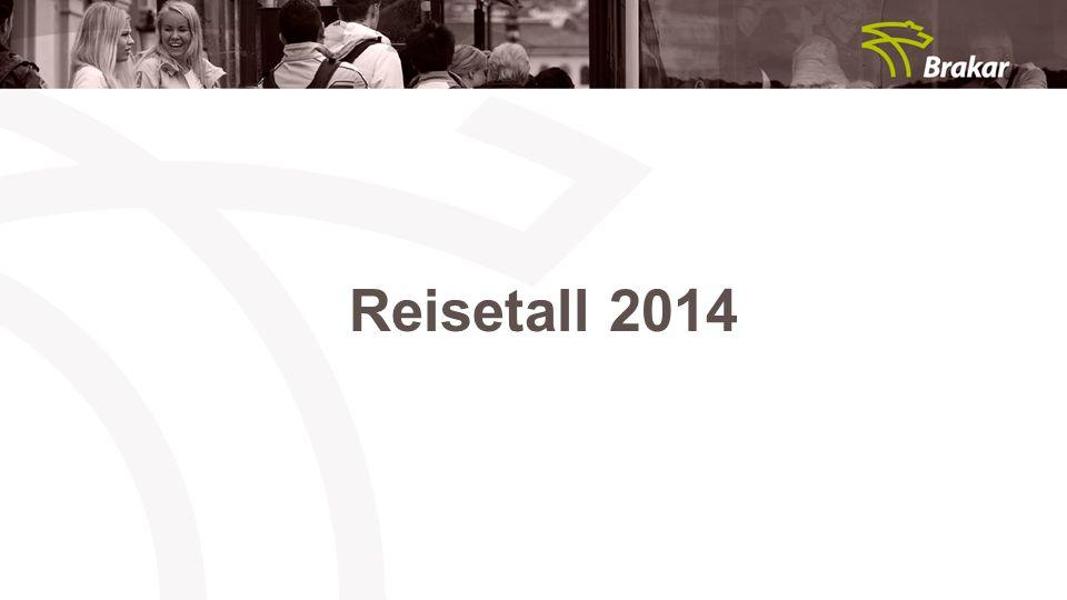 Reisetall 2014