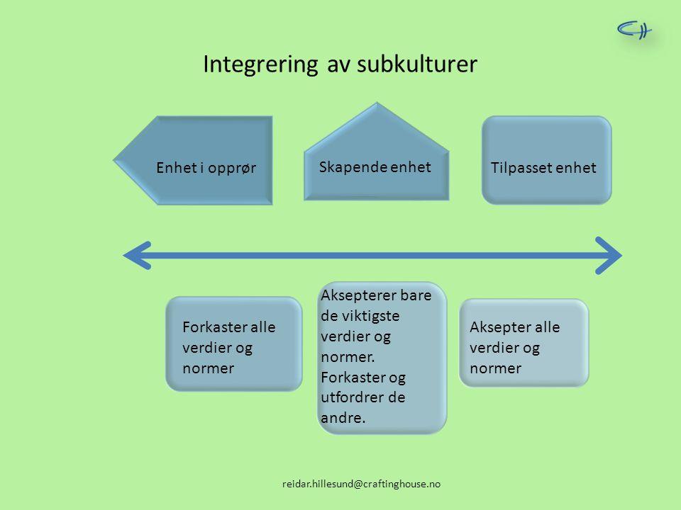 Integrering av subkulturer