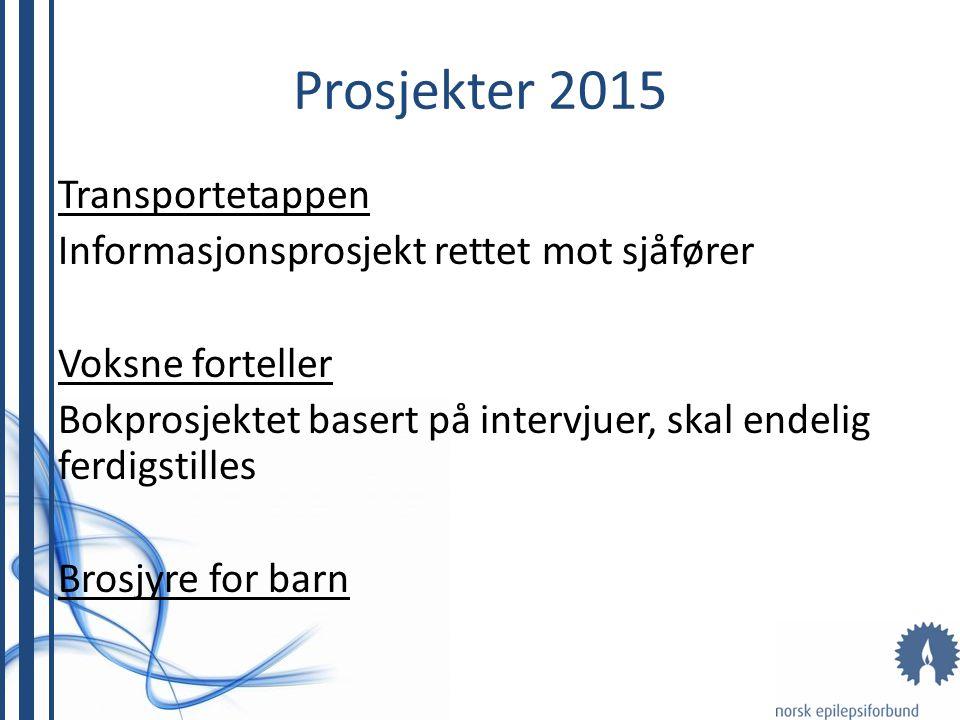 Prosjekter 2015 Transportetappen