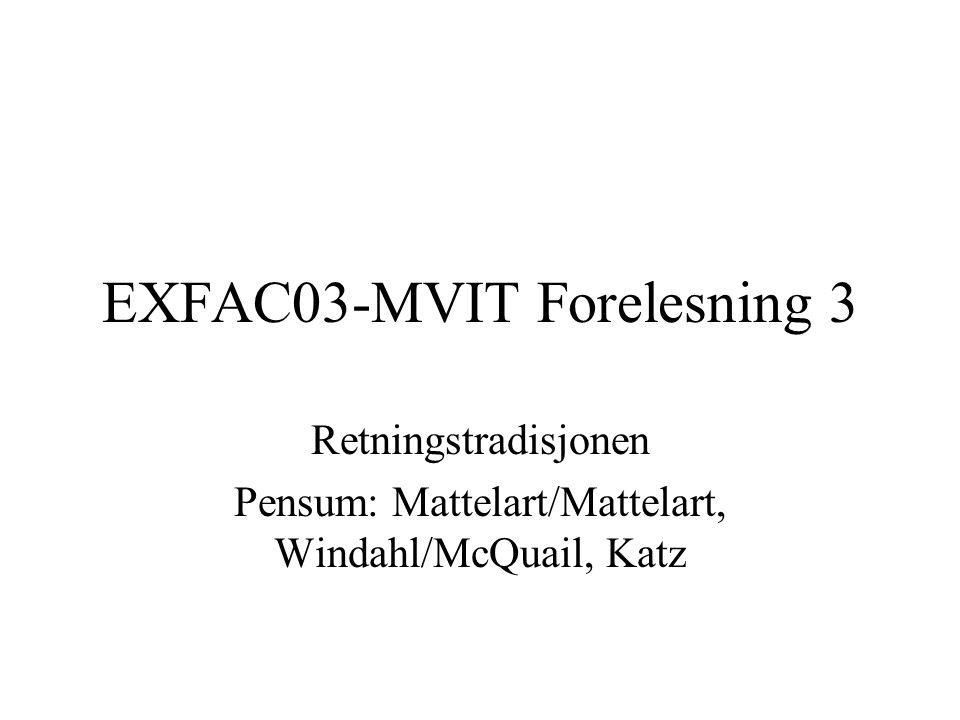 EXFAC03-MVIT Forelesning 3