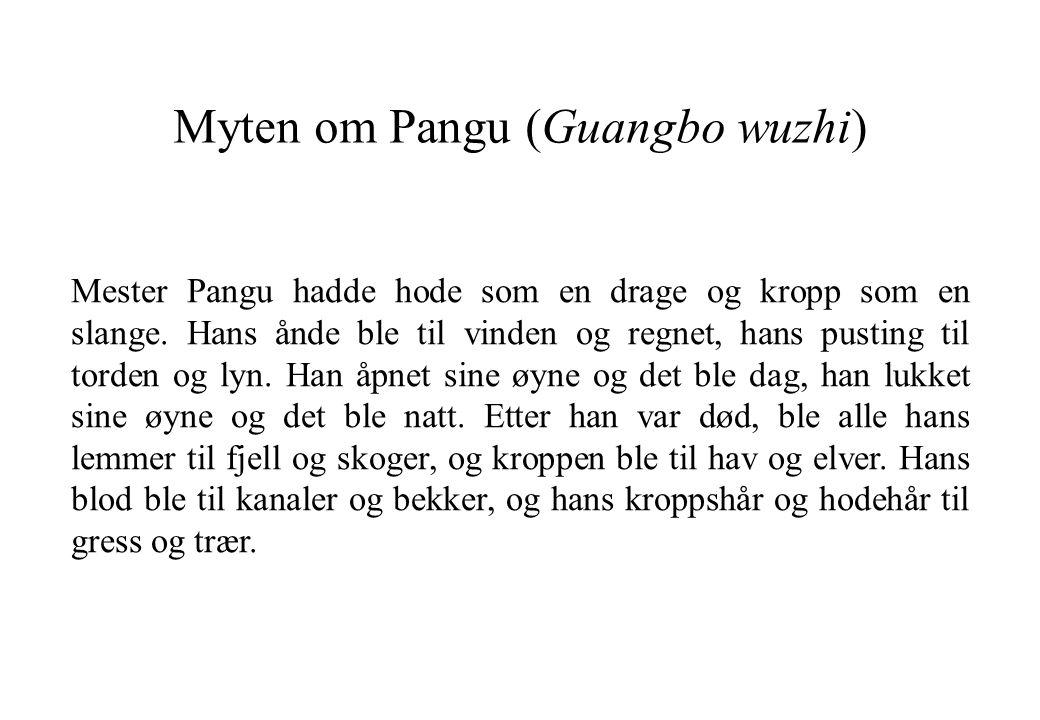 Myten om Pangu (Guangbo wuzhi)