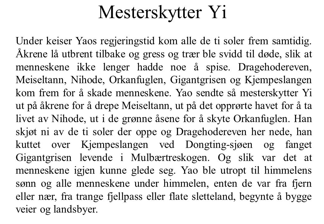 Mesterskytter Yi
