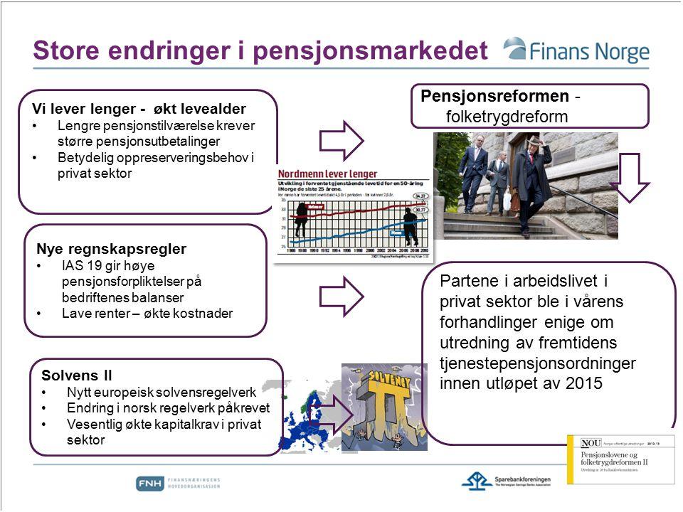 Store endringer i pensjonsmarkedet