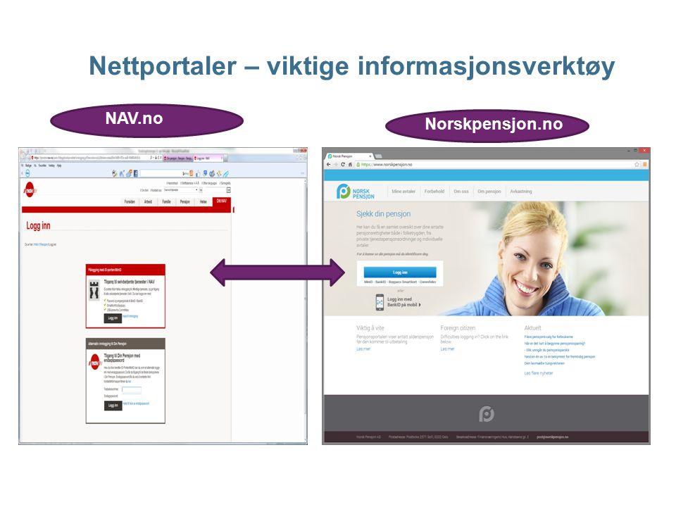 Nettportaler – viktige informasjonsverktøy