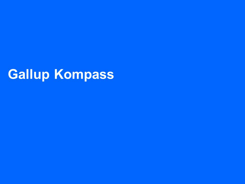 Gallup Kompass TNS Gallup + 47 23 29 16 00