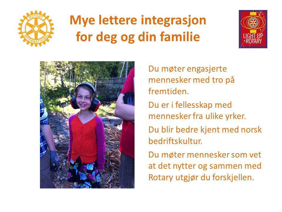 Mye lettere integrasjon for deg og din familie