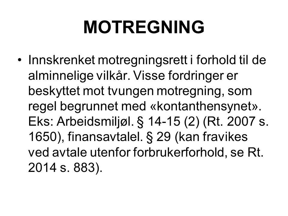 MOTREGNING