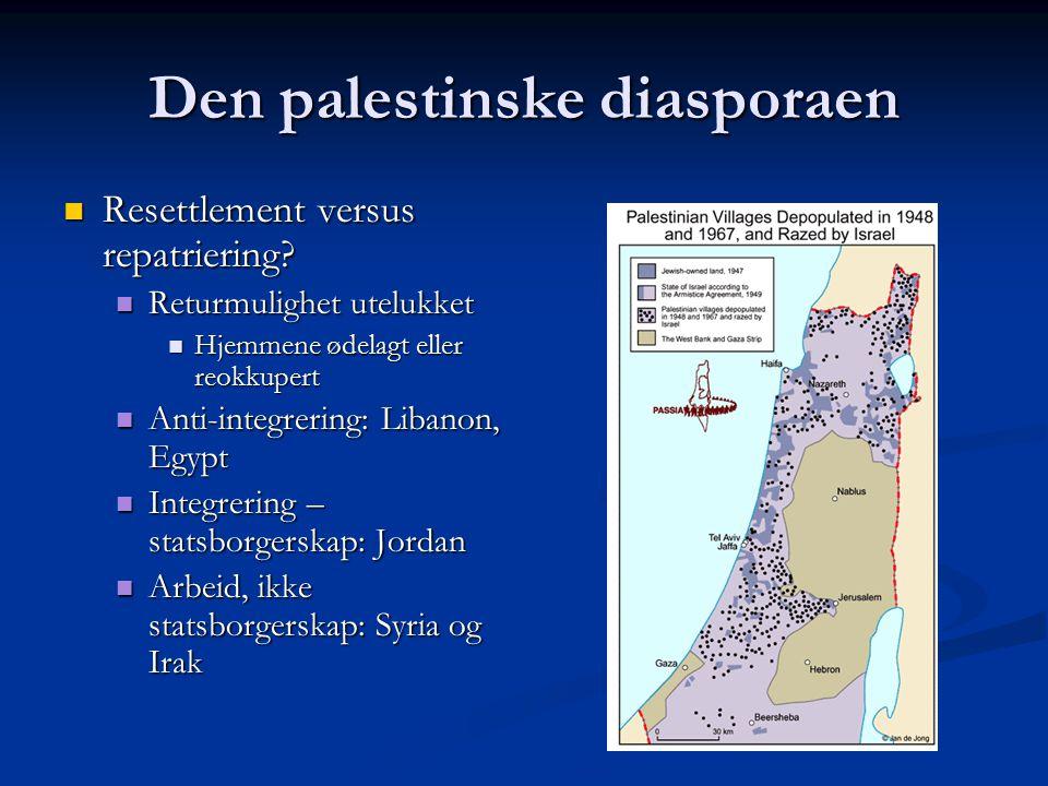 Den palestinske diasporaen
