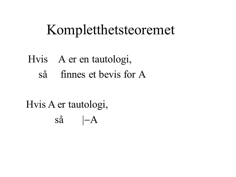 Kompletthetsteoremet