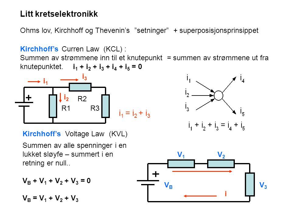 Litt kretselektronikk