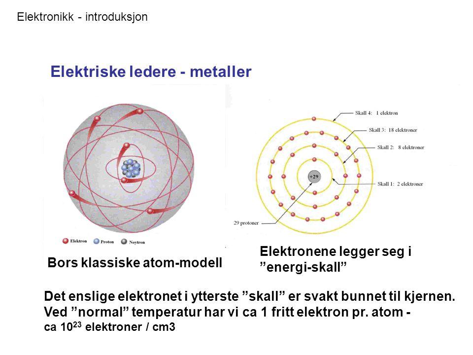 Elektriske ledere - metaller