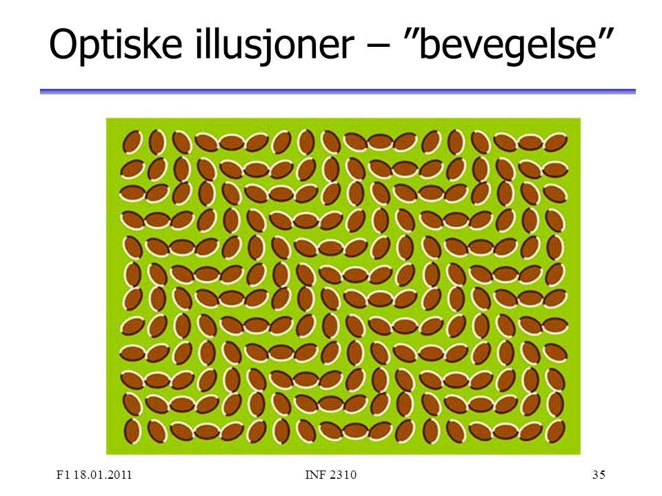 Optiske illusjoner – bevegelse