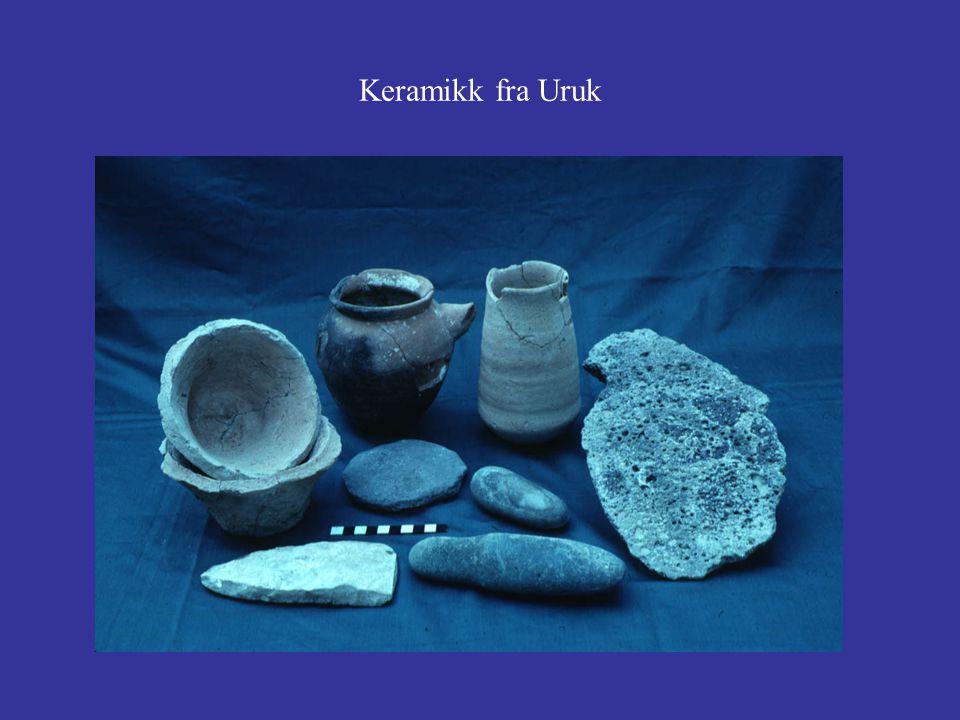 Keramikk fra Uruk