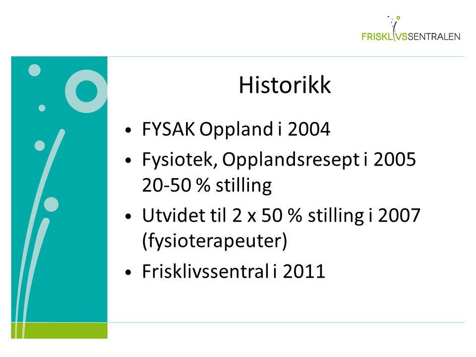Historikk FYSAK Oppland i 2004