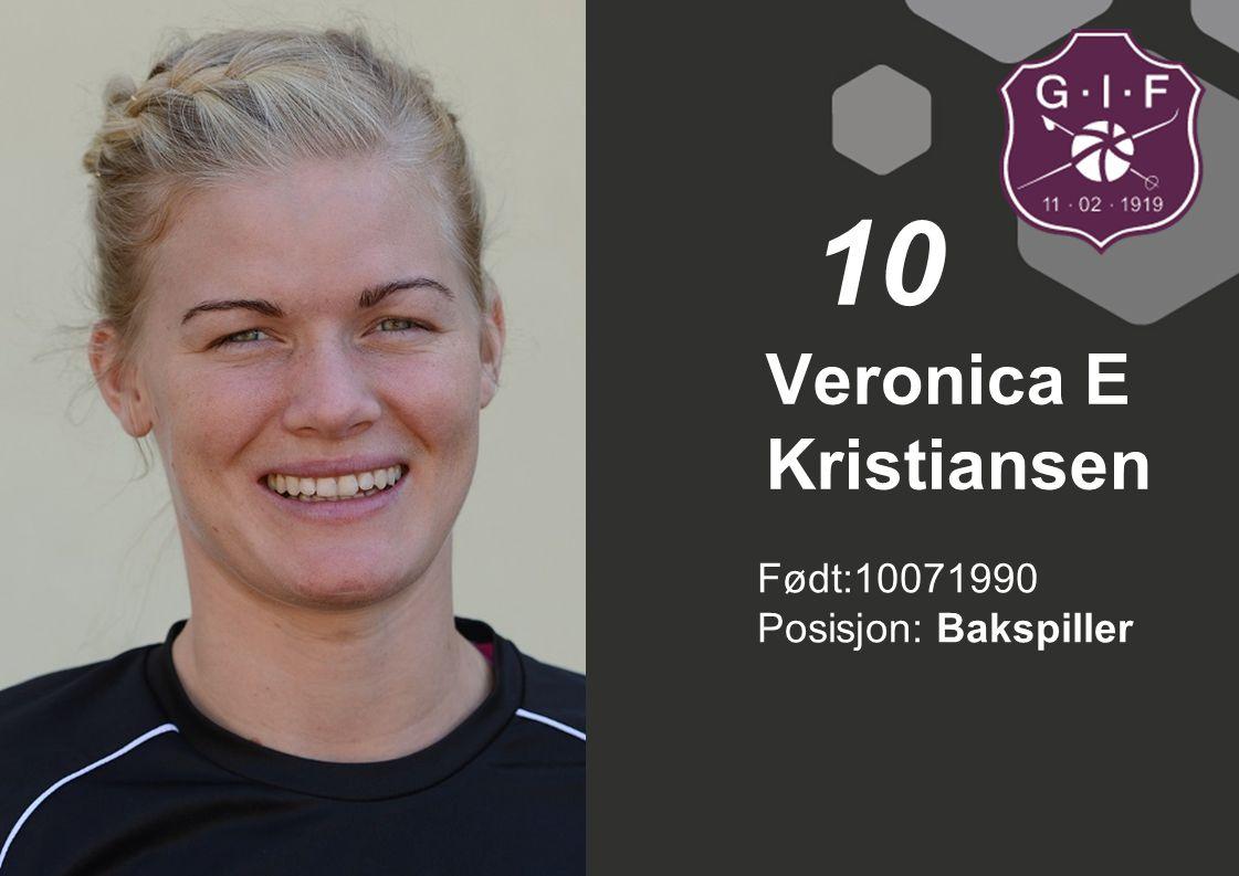 Veronica E Kristiansen