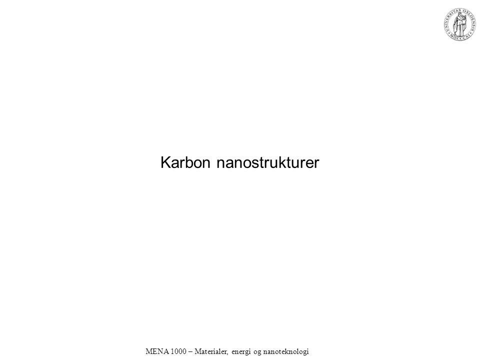 Karbon nanostrukturer