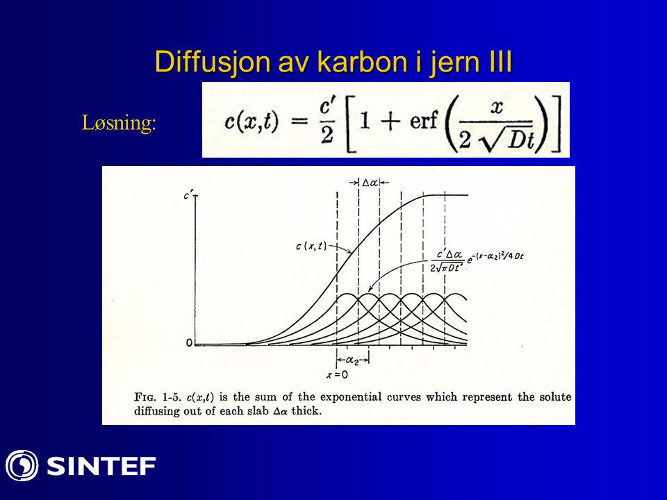 Diffusjon av karbon i jern III