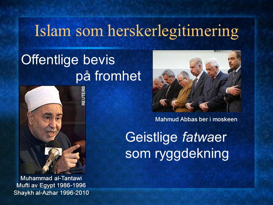 Islam som herskerlegitimering