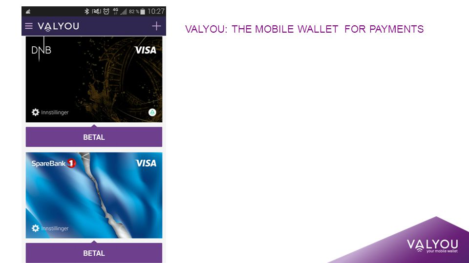 VALYOU: THE MOBILE WALLET FOR PAYMENTS