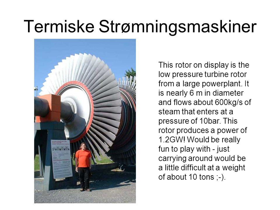 Termiske Strømningsmaskiner