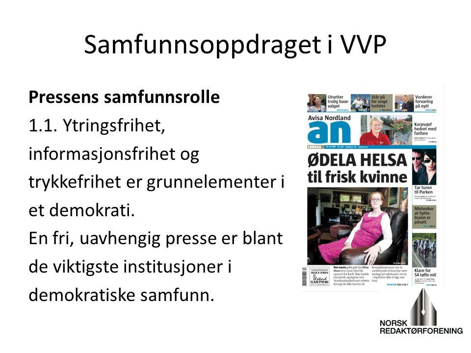 Samfunnsoppdraget i VVP
