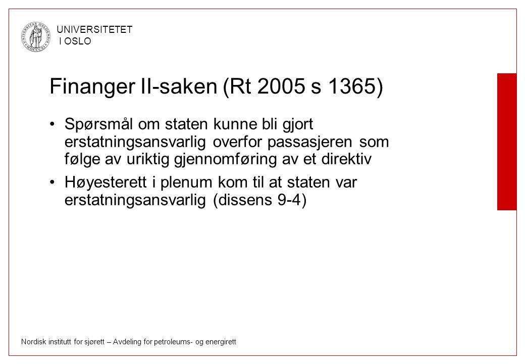 Finanger II-saken (Rt 2005 s 1365)