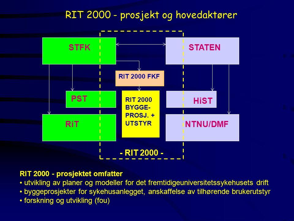 RIT 2000 - prosjekt og hovedaktører