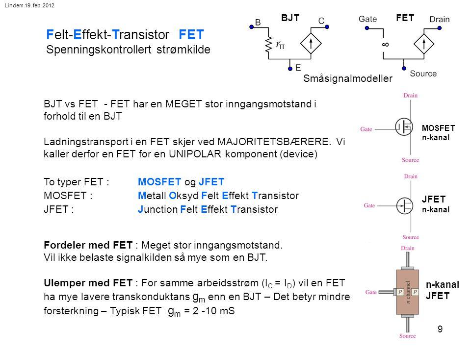 Felt-Effekt-Transistor FET