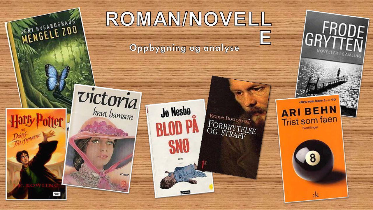 Roman/Novelle Oppbygning og analyse