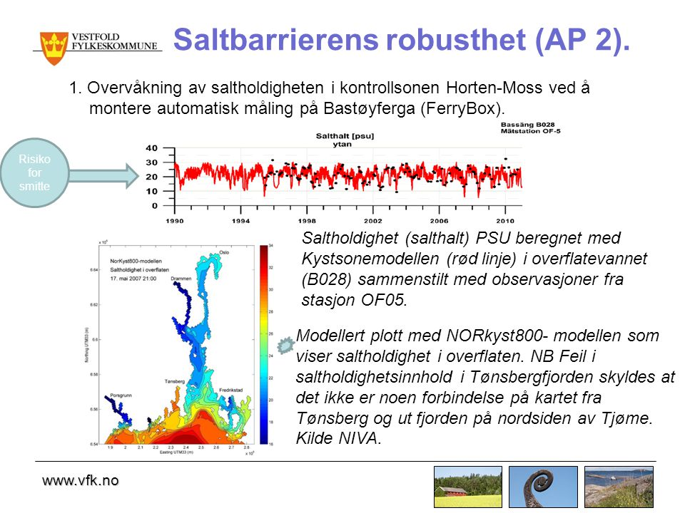 Saltbarrierens robusthet (AP 2).