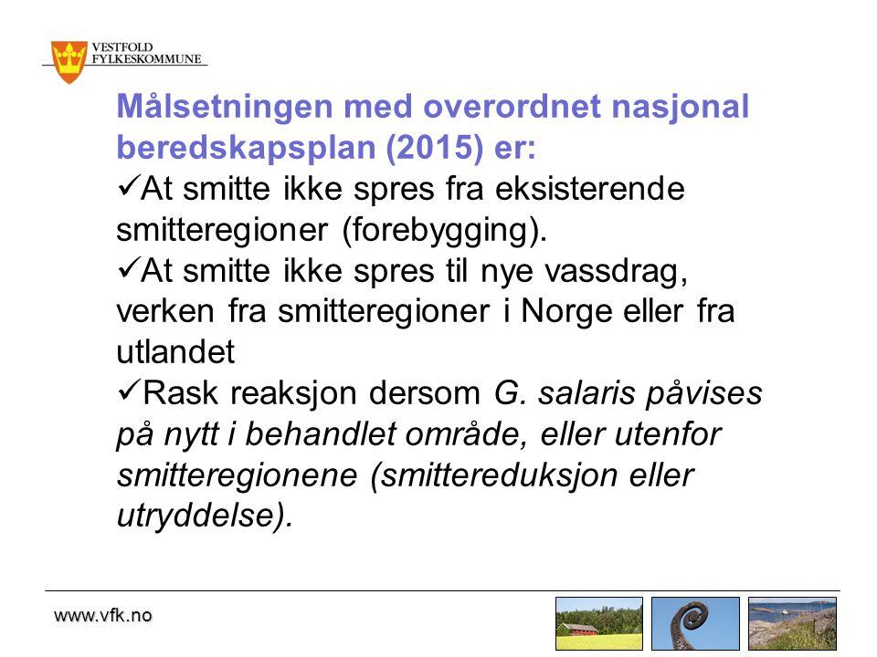 Målsetningen med overordnet nasjonal beredskapsplan (2015) er: