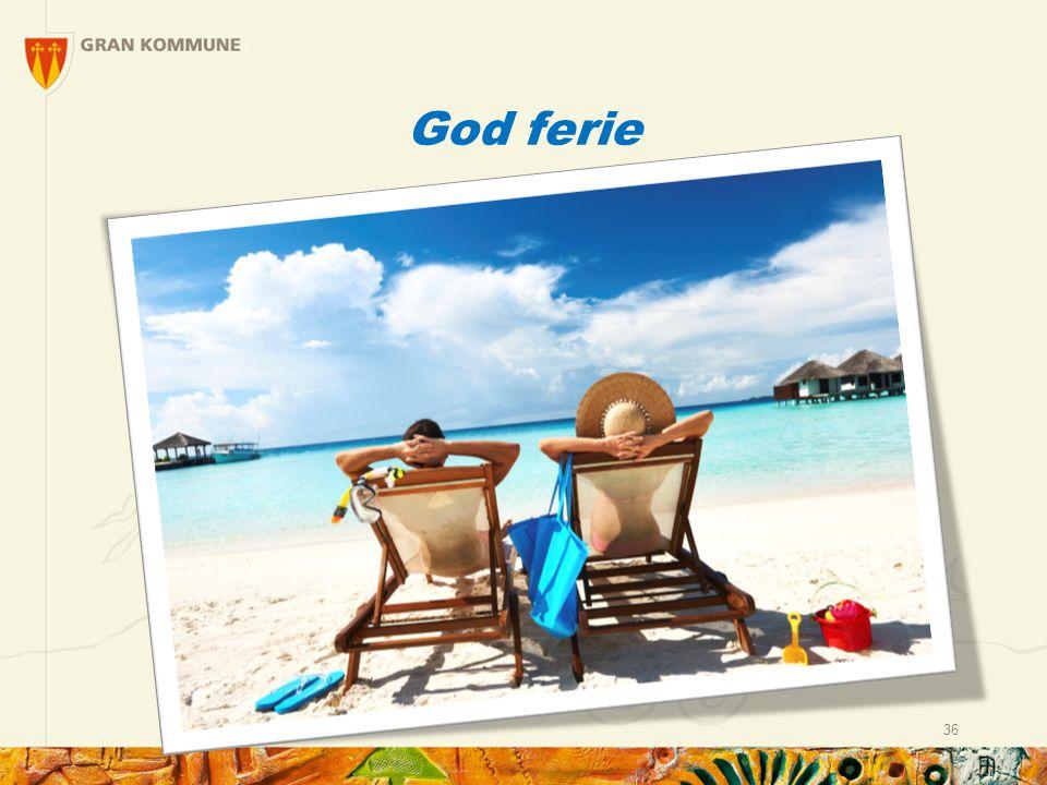God ferie