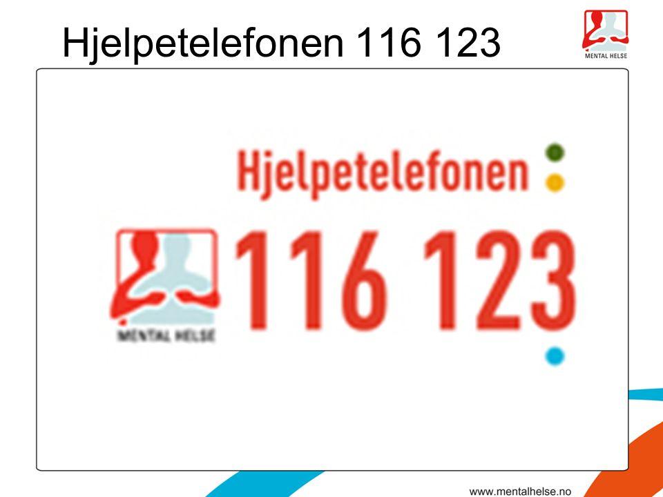 Hjelpetelefonen 116 123