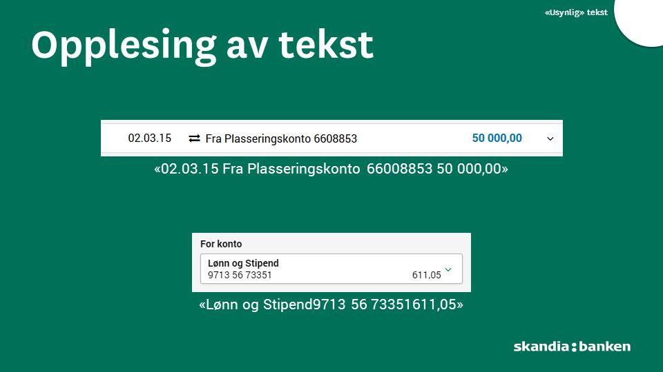 «02.03.15 Fra Plasseringskonto 66008853 50 000,00»