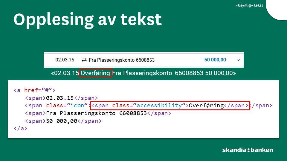 «02.03.15 Overføring Fra Plasseringskonto 66008853 50 000,00»