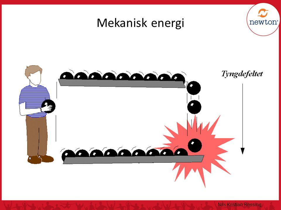 Mekanisk energi Nils Kristian Rossing