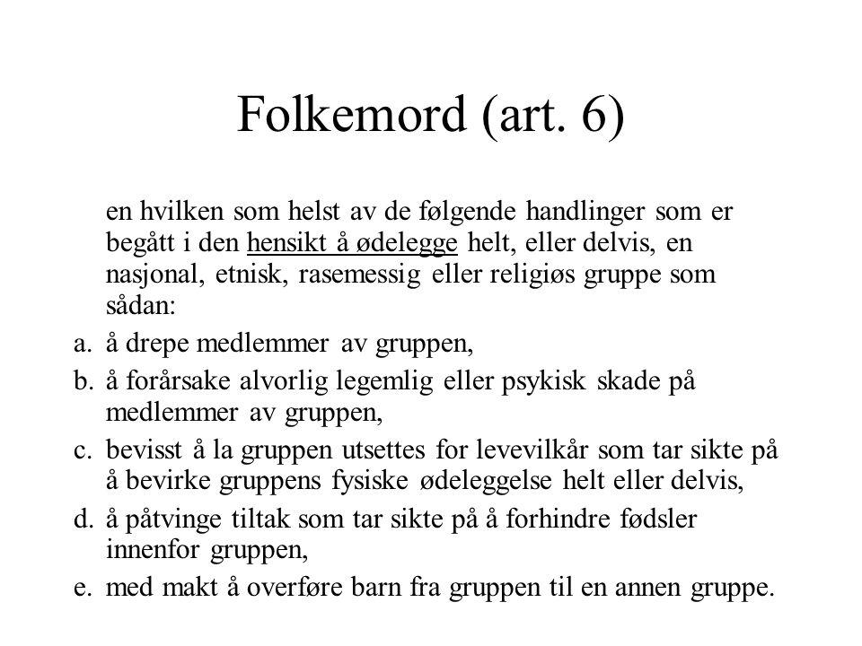 Folkemord (art. 6)