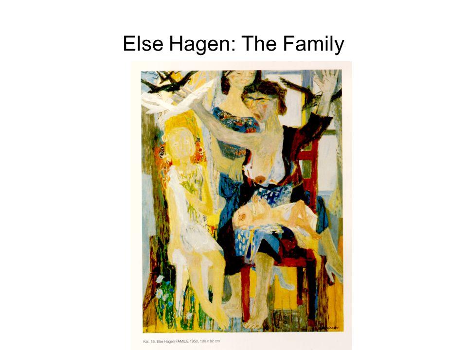 Else Hagen: The Family