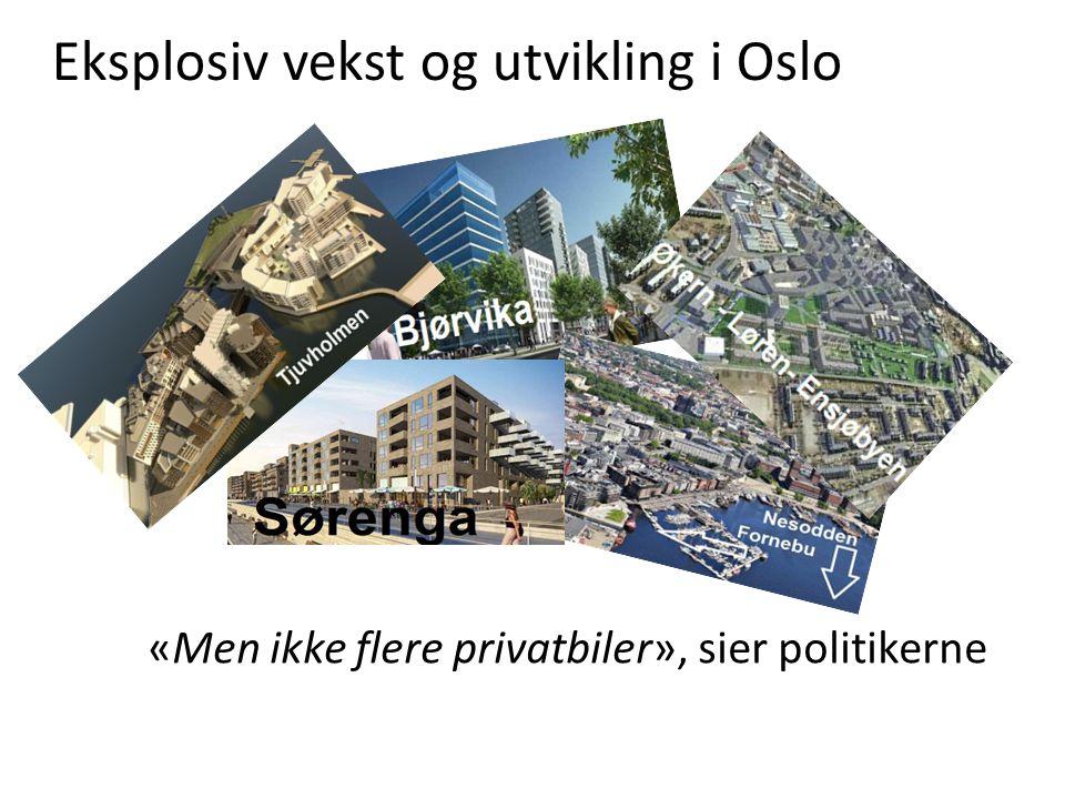 Eksplosiv vekst og utvikling i Oslo