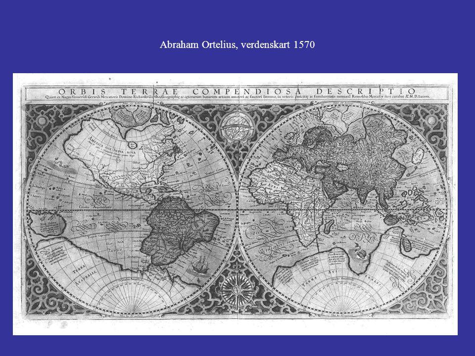 Abraham Ortelius, verdenskart 1570