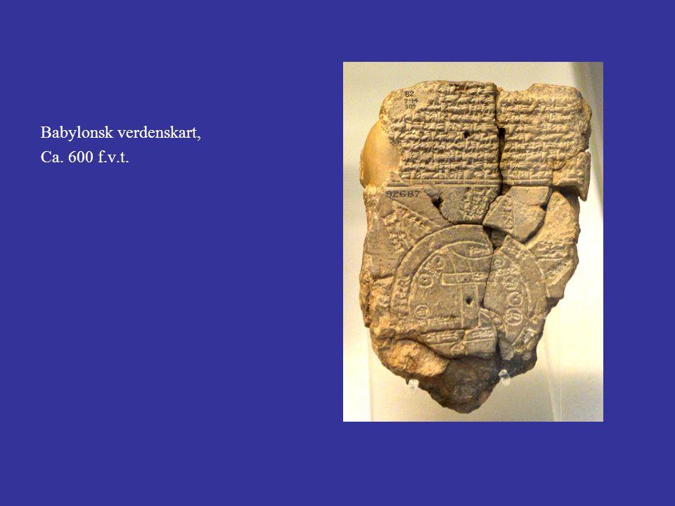 Babylonsk verdenskart,